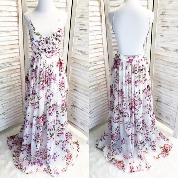 Dresses & Skirts - English Garden Floral Maxi Dress